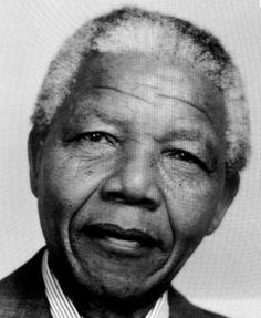 Nelson Mandela. (Alt. NiFe)