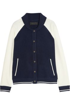 Givted-raquel boiled #wool varsity #jacket
