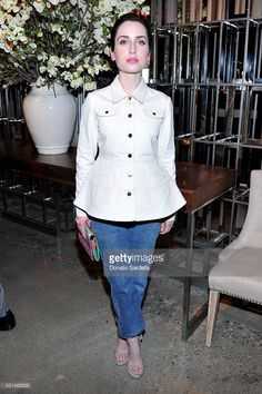 Actress Zoe Lister-Jones attends 'The First Monday in May' Los Angeles screening hosted by Bryan Lourd, Wendi Murdoch, Anna Wintour, iTunes and Magnolia Pictures at NeueHouse Hollywood on April 15, 2016 in Hollywood, California.