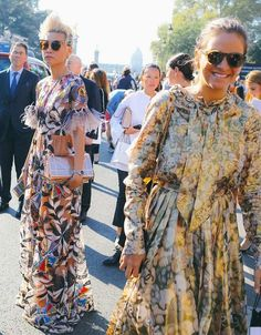 c7c016546e Esther Quek in an Ott dress and Dior Bag and Laure Hériard Dubreuil in  Chanel spotted