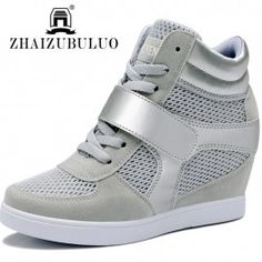 New 2015 Wedges Sneaker For Women High Quality Summer Casual Fashion Women Shoes Height Increasing Isabel Marant Zapatos Mujer