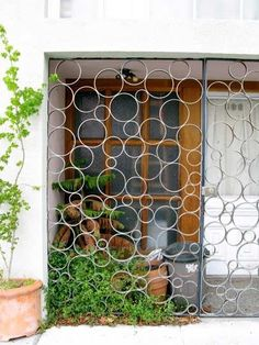 decorative security bars for windows - Google Search