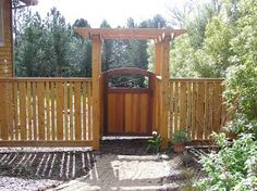 Cedar Fence Arbor And Gate Fine Homebuilding regarding measurements 1200 X 898 Wood Fence Gate Arbor - Due to its PVC Cosmetics, the fence is quite
