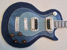 How-To: Kerry's Felted Wool Applique Guitar Project (Penny Rug) | We, of the Needle