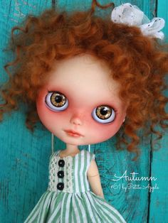 RESERVED Custom BLYTHE doll AUTUMN by Marina 61 por Marinart