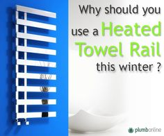 Heated Towel Rail vs Electric units #bathroom Electric Towel Rail, Heated Towel Rail, Cleaning Hacks, Bar Chart, The Unit, Organization, Bathroom, Tips, Getting Organized
