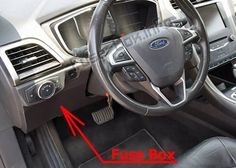 7 Ford Fusion 2013 2016 Fuses And Relays Ideas Ford Fusion Fuse Box Electrical Fuse