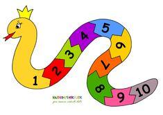 Pohrajte sa s číslami pomocou hada. Poskladajte si ho ako puzzle.