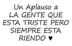 Aplausos!!! :(
