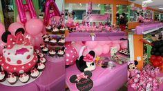 Playland Cafe celebrated Ayesha's #1stBirthday in #Minnie Mouse style! Tastefully highlighted in pink, polka dots, bows, and balloons. Tons of goodies for all guests including delightful #cupcakes, #lollipops, grab bags, and the wonderful #cake!  We had a great time with the birthday family and friends. Thank you for spending your special day with us!