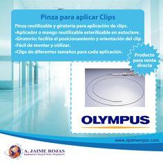 Pinza reutilizable y giratoria para hemostasia  mecánica y térmica.