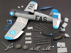 Corsair by Brett Green (Tamiya Football War, F4u Corsair, Mixed Models, Aircraft Photos, Tamiya, Scale Models, Air Force, Fighter Jets, Modeling