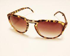 #eyewear #sunglasses h&m #leopard