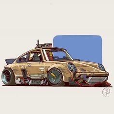 African Art Projects, Cool Car Drawings, Car Illustration, Illustrations, Arte Cyberpunk, Art Cars, Custom Cars, Concept Cars, Game Art