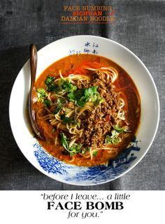 OMG -- one of my absolute favorite dishes EVER. Though this one sounds a bit spicier than the one I remember. Whatever -- must try!