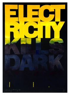 Electricity Kills Darkness – Alan Kitching