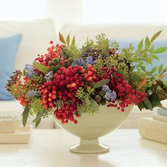 Colorful bouquet - Decorating Ideas for Christmas - Sunset