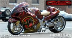 Airbrush Cars Gallery | Bacardi - AirbrushArtists.org