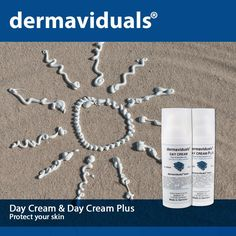 Day Cream & Day Cream Plus. Available at Temple of Beauty Day Spa