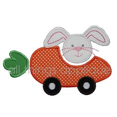 Easter+Applique+Design++Carrot+Car++Machine+by+allthingsapplique,+$4.00