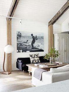 wood en white
