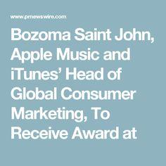 Bozoma Saint John, Apple Music and iTunes' Head of Global Consumer Marketing, To Receive Award at