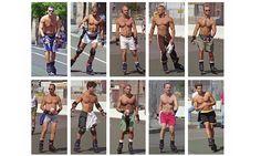 Hans Eijkelboom roller skaters New York people 21st century