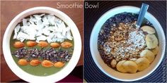 Smoothie Bowls - aheartyvibe.tumblr.com