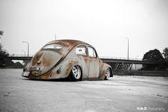 VW Beetle with the Oval Window Option