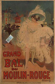Le Grand Bal du Moulin Rouge, collection du Musée de Montmartre