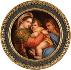 АукционноАнтикварная копилка: Европейская живопись на фарфоре... KPM Bildplatte 19 век.
