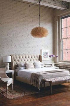 Industrial Style Bedroom Design Ideas-03-1 Kindesign