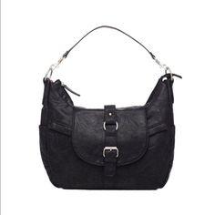 Kelly Moore Hobo Camera or baby Bag Black leather. Brand new. Kelly moore bag Bags Hobos