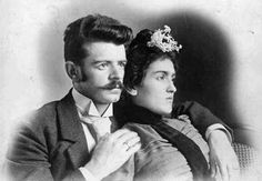 Guillermo Kahlo and Mathilde Calderón, Frida's parents