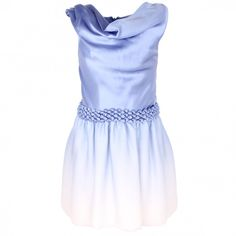 Dior Cowl neck silk occasion dress