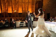 First Dance | Thompson Barn | Winter Wedding | Lenexa, KS | Felicia the Photographer
