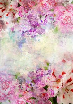 5x7ft Pink Flowers floral Photography Backdrop Prop for Photographers D1642
