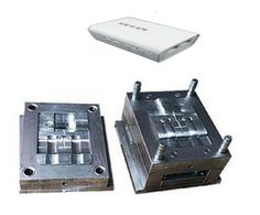 Electronic product injection plastic mould molding for WiFi Powerline router