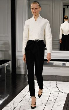 Balenciaga by Alexander Wang AW13 look Nr 9
