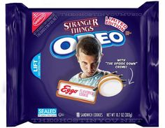 """Stranger Things Eggo Oreos """"Oreo has been going wild with limited edition flavors as of late, but what if they made horror movie-themed cookies? Billy Polard put together a bunch of clever mock-ups for Dread Central. Stranger Things Quote, Stranger Things Aesthetic, Stranger Things Season, Stranger Things Netflix, Funko Pop, The Upside, Best Shows Ever, Horror Movies, Funny Horror"""