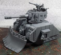 Blood and Skulls industry turret, dozer and side armor.