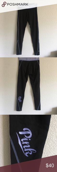 PINK Ultimate Yoga Leggings 🌈Open To Offers🌈 🚫Sorry, No Trades🚫 💰BUNDLE FOR DISCOUNTS💰 ⚡️Fast Shipping: same day or next morning depending on what time items are purchased⚡️ 💜please leave me a comment if you have any questions or would like me to stop by and check out your closet, thank you!💜 PINK Victoria's Secret Pants Leggings