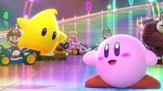 Super Smash Bros. Wallpaper - Luma and Kirby by Thelimomon.deviantart.com on @deviantART