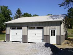 Pin by pioneer pole buildings, inc. on two car garages in 20