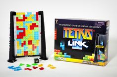 Tetris Link Game: A new twist on the popular game. Unique gift idea for a gamer.