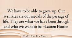Lauren Hutton Quotes About Birthday - 7133