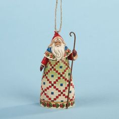 Jim Shore Santa with Cane -- This is an Amazon Affiliate link. Check out this great product.