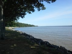 James River Shoreline - Tidewater, Virginia