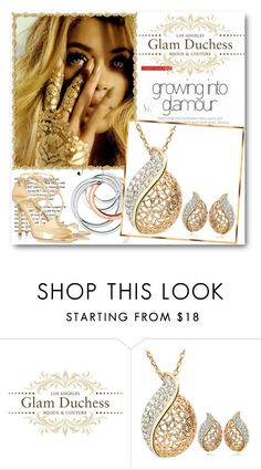 """""""Glam Duchess"""" by glamduchess ❤ liked on Polyvore featuring Tiffany & Co. and Jimmy Choo"""