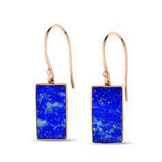 Lapis lazuli earring, Ginette NY